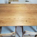 初めてのお手入れ!UNICOのダイニングテーブルにメンテナンスオイルを塗ってみました!!