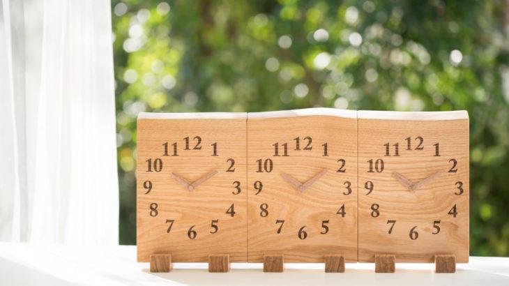 【両親への記念品】木の暮らしの手作り三連時計にしたので、どうだったかレポート!!